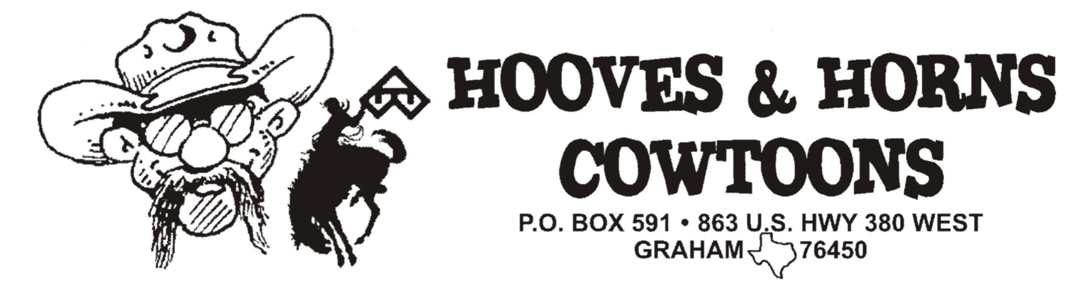 HOOVES & HORNS COWTOONS